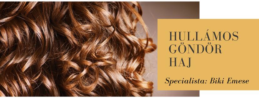 Göndör – hullámos haj